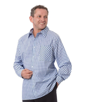 Men's Adaptive Sport Shirt - Adaptive Clothing For Men - Long Sleeve Snap Back Shirts - Adaptive Clothing Canada