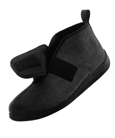 Men's Wide Comfortable Slippers - Adaptive Clothing Canada
