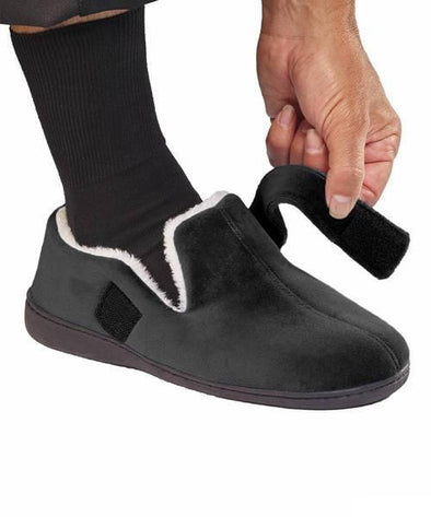 Mens House Slippers Memory Foam Slippers For Men - Adaptive Clothing Canada