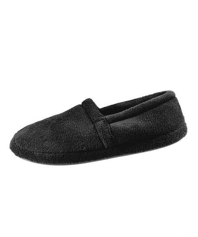Most Comfortable Mens Wide Slippers - With Memory Foam Comfort - Terry Fleece - Adaptive Clothing Canada