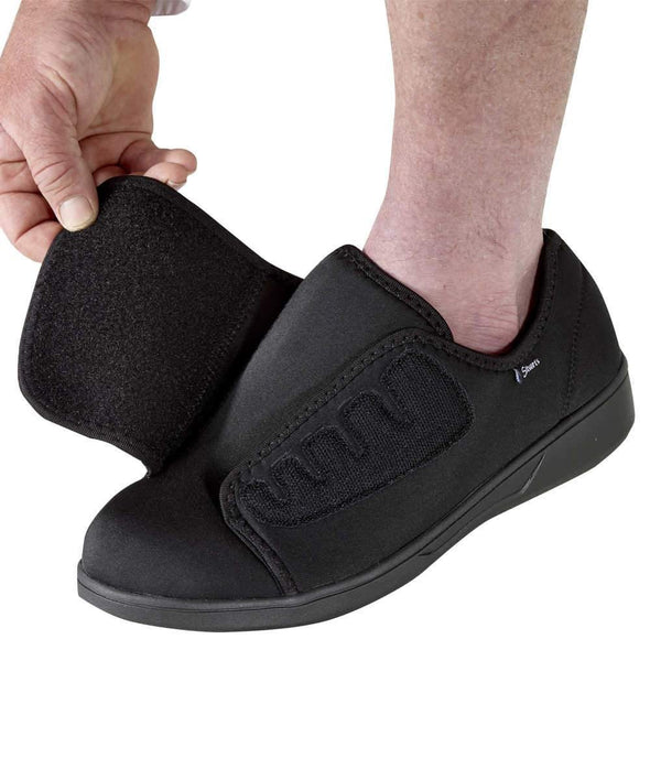 Extra Wide Extra Deep Slip Resistant Shoes For Men - Lightweight & Comfortable - Adaptive Clothing Canada