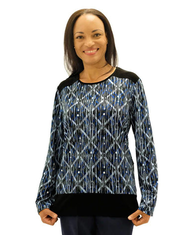 Womens Adaptive Top Offers Style And Comfort - Home Care And Nursing Home Clothing For Women - Adaptive Clothing Canada