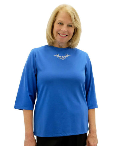 Women's Adaptive Top - Wardrobe Basic - Clothing For Disabled Adults - Adaptive Clothing Canada