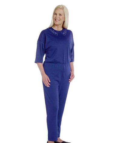 fe7126779903 Women s Adaptive Alzheimers Clothing Anti Strip Suit Jumpsuit - Adaptive  Clothing Canada