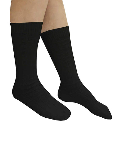2 - Pack Lightweight Stretch Socks For Swollen Feet And Ankles - Two Pairs Per Package - Adaptive Clothing Canada