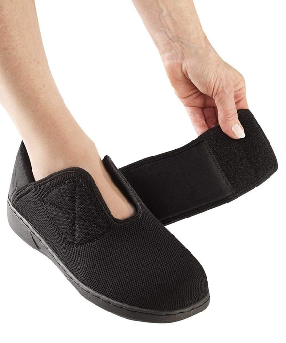 Women's Extra Wide Shoes - Easy Touch Footwear For Swollen Feet - Adaptive Clothing Canada