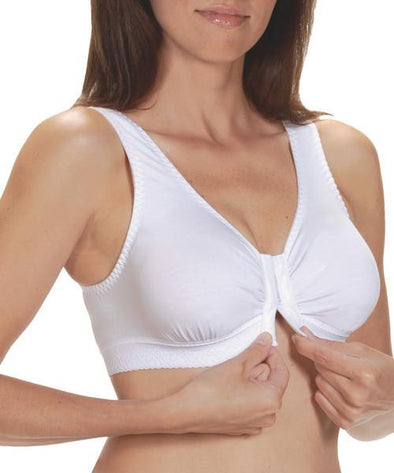 Front Closure Cotton Bra - Adaptive Clothing Canada