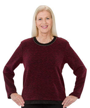 Pretty Adaptive Sweater - Open Back Dressing At It's Best - Adaptive Clothing Canada