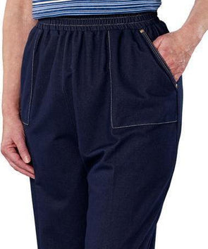 Women  Adaptive Casual Wheelchair Jean Pants - - Adaptive Clothing Canada