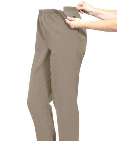 Women's Adaptive Arthritis Pants - Easy Access Polyester Pants - Adaptive Clothing Canada