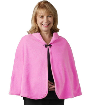 Women's Bed Jacket Cape - Bed Fleece Shawl - Hospital Bed Jacket - Adaptive Clothing Canada