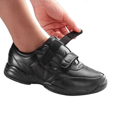 Women's Extra Wide Walking Shoes -  Leather Shoes - Sneakers - Adaptive Clothing Canada