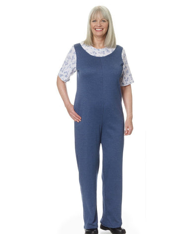 Womens Adaptive Alzheimer's Clothing Antistrip Suits Pajamas - Back Zipper Onesie - Adaptive Clothing Canada