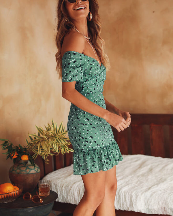 Break the Rules Bodycon Dress - Green | Flirtyfull.com