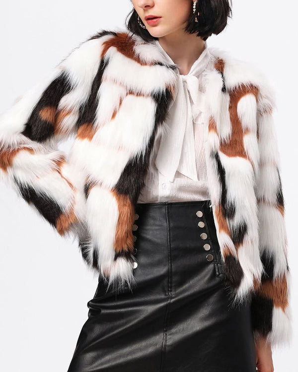 Ainsley Faux Fur Winter Coat | Flirtyfull.com
