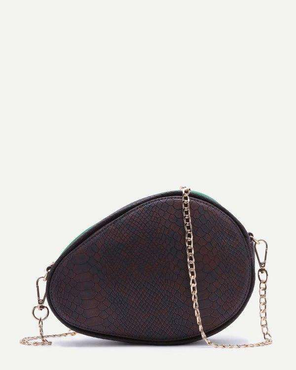 Avocado Shape Crossbody Novelty Bag | Flirtyfull.com