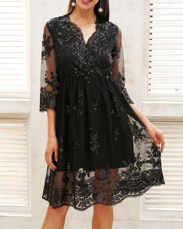 Be Bold Midi Formal Dress Black | Flirtyfull.com