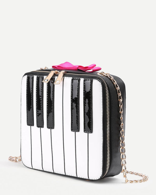 Piano Shape Crossbody Novelty Bag | Flirtyfull.com