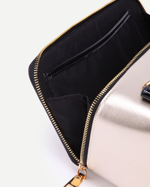 Radio Shape Handbag Novelty Bag - Gold | Flirtyfull.com