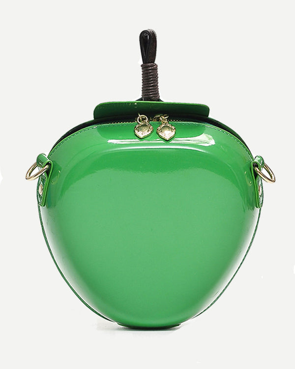 Apple Crossbody Harajuku Novelty Bag - Green | Flirtyfull.com