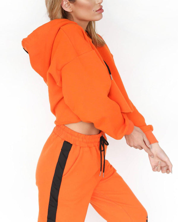 Mamba Two Pieces Set - Orange | Flirtyfull.com
