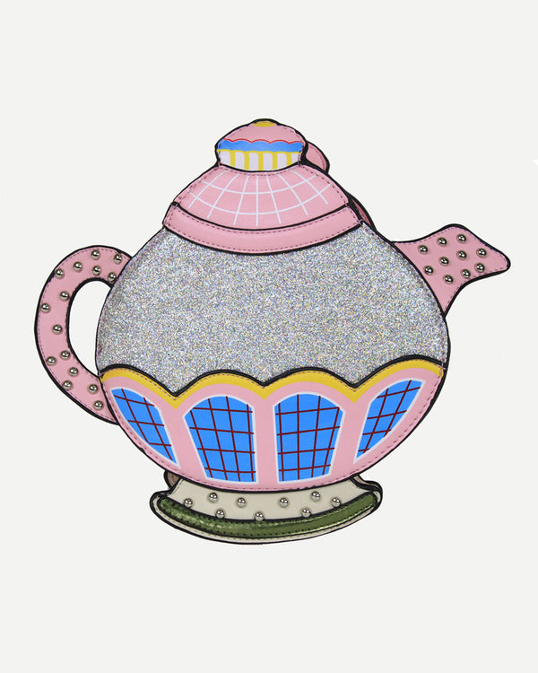 Teapot Shape Crossbody Shoulder Harajuku Kawaii Bag - Pink | Flirtyfull.com