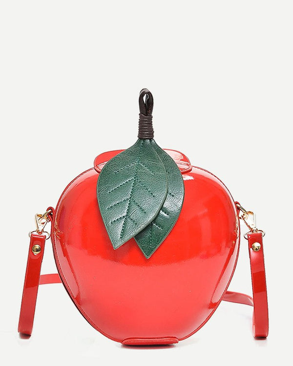Apple Crossbody Harajuku Kawaii Shoulder Bag - Red | Flirtyfull.com