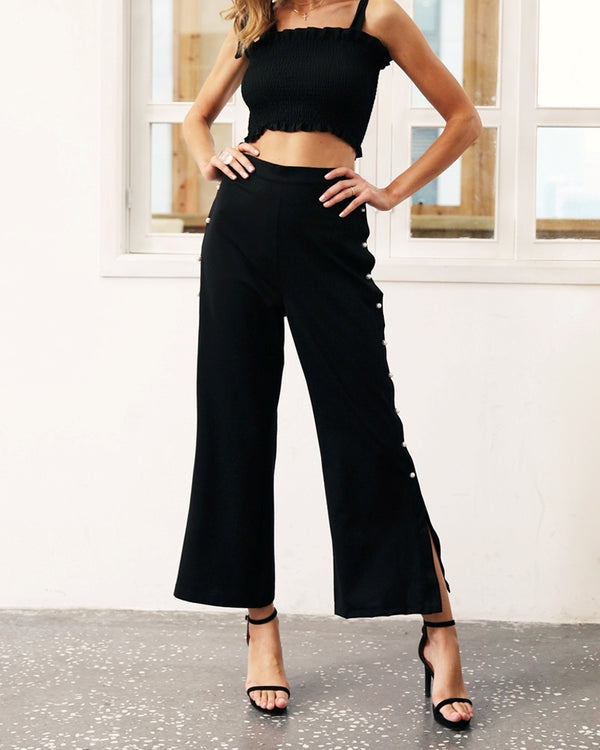 Flirtyfull Vanity Formal Capri Pants | Flirtyfull.com | Shop Women's Clothing & Fashion Online