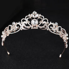 Romantic Vintage Inspired Crystal Bridal Tiara - La Bella Bridal Accessories