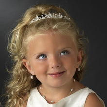 Darling Child's Double Pearl Illusion necklace - La Bella Bridal Accessories