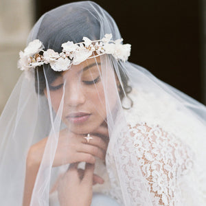 Cherry Blossom & Custom Bridal Headpieces - La Bella Bridal Accessories