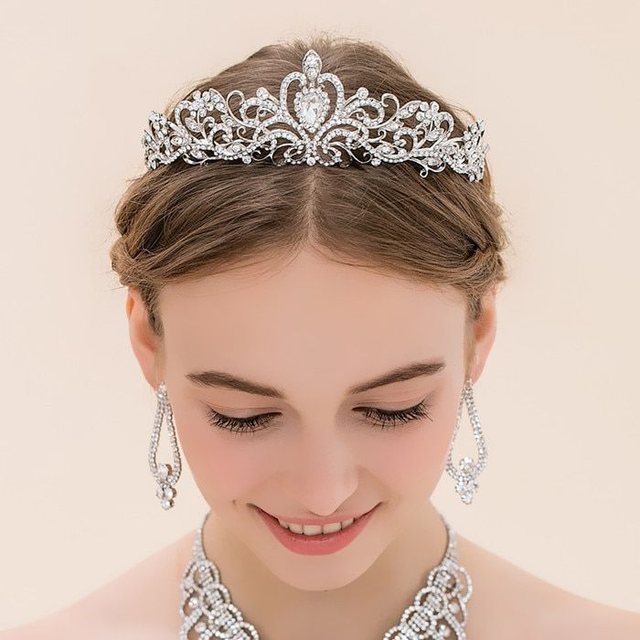 Tiara, Crystal Tiara, wedding tiara, Swarovski Crystal tiara, Pearl Tiara, bridal headpieces, wedding headpiece