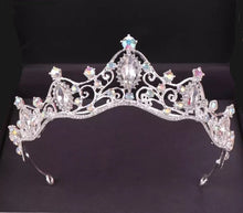Classic Royal Crystal Wedding Tiara Headpiece - La Bella Bridal Accessories