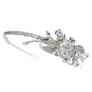 Sparkling Swarovski & Crystal Headband - La Bella Bridal Accessories