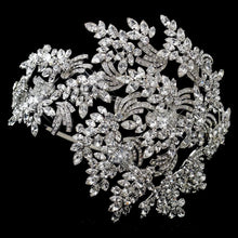 Crystal Leaves headband, Bridal Headpiece, wedding headband, bridal headpieces, wedding headpiece