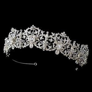 Beautiful Royal Bridal Tiara - La Bella Bridal Accessories