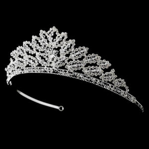 Swarovski Crystal Bridal Tiara - La Bella Bridal Accessories