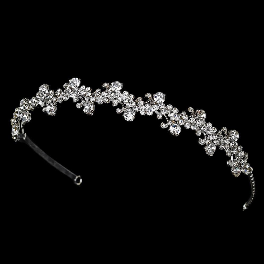 Crystal headband, Tiara, wedding headband, wedding headpiece, bridal headpieces, crystal tiara