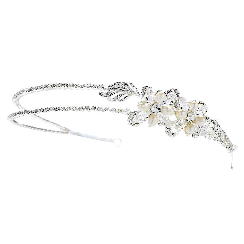 Beautiful Bridal Headband - La Bella Bridal Accessories