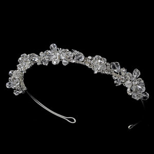 Swarovski Crystal Bridal Headband - La Bella Bridal Accessories