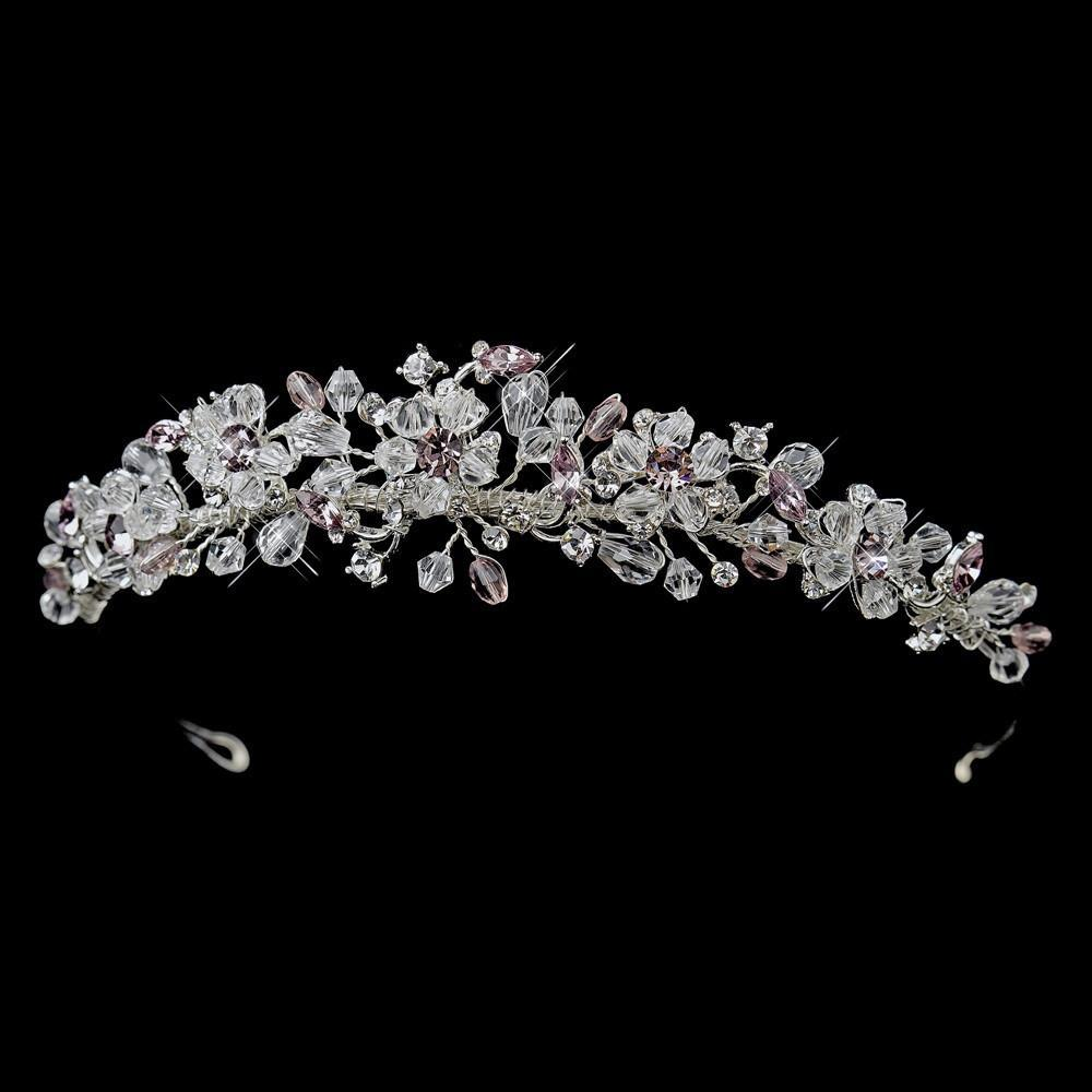 Tiara, Wedding Tiara, Wedding Headpiece, Bridal headpieces, crystal tiara