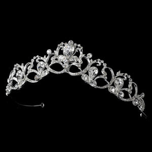Vintage Crystal Bridal Tiara, Wedding Headpiece, Bridal headpieces