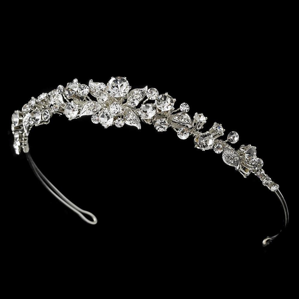 Garden Bridal Tiara - La Bella Bridal Accessories