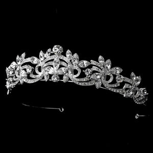 Crystal Swirl Crystal Tiara, Wedding Headpiece, Bridal headpieces