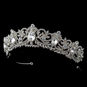 Antique tiara, tiara, crystal tiara, crystal crown, wedding tiara, wedding headpiece