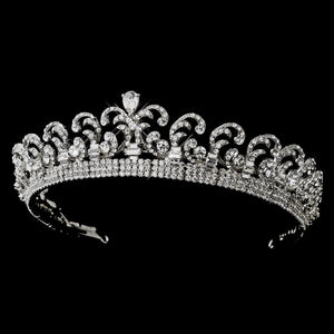 Royal Kate Middleton Inspired Wedding Tiara - La Bella Bridal Accessories