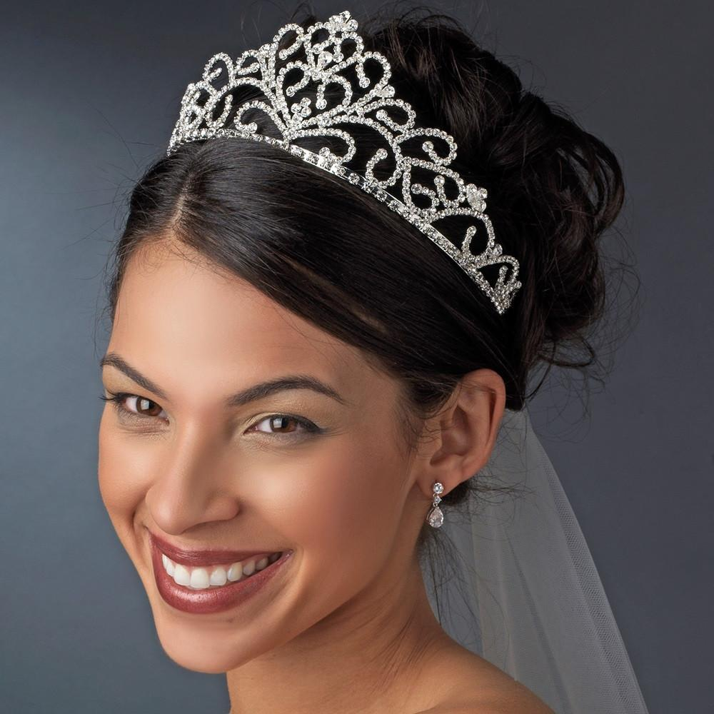 Royal Crystal Tiara - La Bella Bridal Accessories