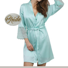 sky blue aqua bridal robe,bridal robes,white bridal robe,bridal robe,bridal party robes,wedding robes,wedding robe,silk robe,satin robe,lace robe, bridesmaid robe,bridesmaid robes
