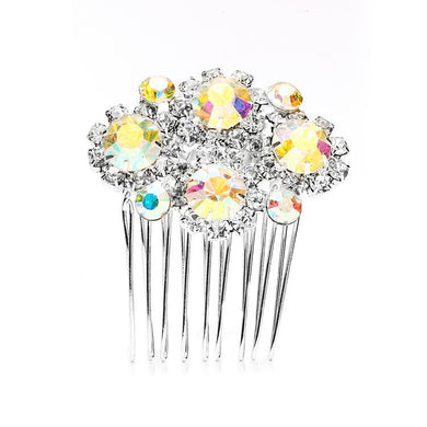 Dazzling AB Crystal Hair Comb