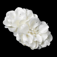 Bridal Flower Hair Clip - La Bella Bridal Accessories